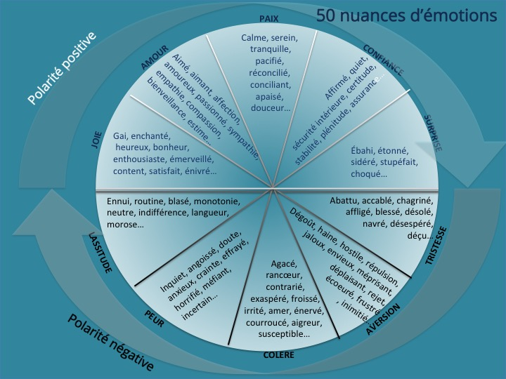 50 nuances d'émotions